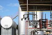 Fuel reserve plant — Stock Photo