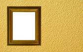 Fundo amarelo com frame — Foto Stock