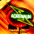 Adrenalin sign — Stock Photo