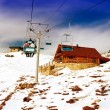 Ski lift - Stockfoto