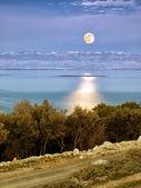 Adriatic Moon — Stock Photo