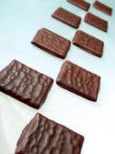 Schokolade-Blöcke — Stockfoto