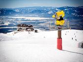 Snow cannon — Stock Photo
