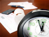 Bills paying time — Foto Stock