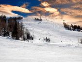 Ski resort — 图库照片