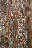 Old wooden cracked varnish brown background — Stock Photo