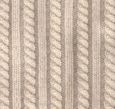 Knitted wool texture of white colour — Stock Photo