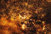 Grunge gyllene konsistens med sand och ljus — Stockfoto