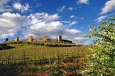 Monteriggioni — Stockfoto