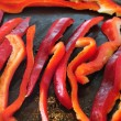 Grilled pepper — Stock Photo