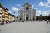 Basilice di Santa Croce — Stock Photo