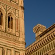 Detail of the Florence's Dome — Stock Photo