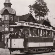 Old tram - Stock Photo