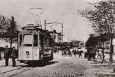Old tram — Stock Photo