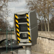 French speed camera — Stock Photo