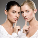 Women's secrets — Stock Photo