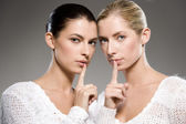 Women's secrets — Foto Stock