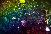 Colorful Crystals Background — Stock Photo