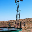 Windmill For Livestock Water — Stock Photo