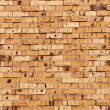 Beige Or Tan Brick Wall — Stock Photo