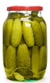 Jar of pickles — Stock Photo