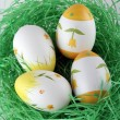 Painted easter eggs — Stock Photo #9507368