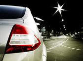 Auto na silnici — Stock fotografie