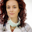 Portrait of a young doctor — Stock Photo