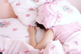 Young woman sleeping. — Stock Photo