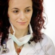 Portrait of a young doctor — Stock Photo #9850702