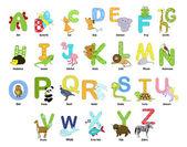 Alfabet — Stockvector