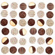 Background of cookies — Stock Photo