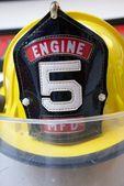 Yellow Fireman's Hat — Stock Photo