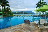 Pool at Resort on Kauai, Hawaii — Stock Photo