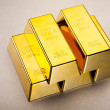 Gold bullion — Stock Photo #10266481