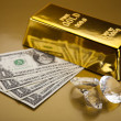 Gold bullion — Stock Photo #10266492