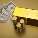Gold bullion — Stock Photo #10266526