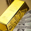 Gold bullion — Stock Photo #10266529