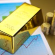 Gold bullion — Stock Photo #10267303