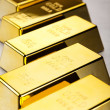 Stack of gold bar — Stock Photo #10268114