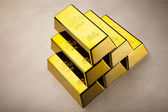 Gold Pyramid — Stock Photo
