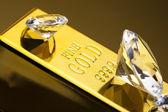Gold value — Stock Photo