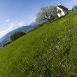 Alps spring — Stock Photo