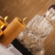 Buddha statue in a meditation — Stock fotografie