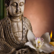 Zen of a buddha — Stock Photo