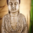 Buddha statue in a meditation  — Stock Photo
