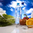 Stock Photo: Supplement sport diet