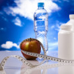 Supplement sport diet — Stock Photo