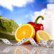 Stock Photo: Supplement Diet