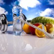 Healthy lifestyle concept, Diet and fitness — Stock Photo #8834218
